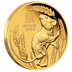 Gouden Munt Australian Lunar - Year of the Mouse